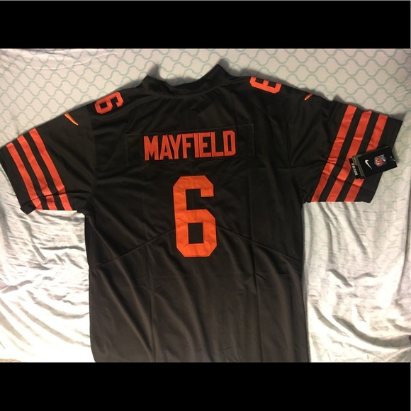 competitive price 3e5e6 b12b9 Baker Mayfield Browns jersey NWT